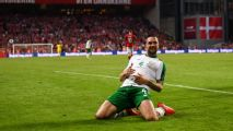 Late Duffy header gives Ireland 1-1 draw in Denmark