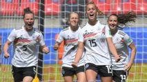 Germany edge past China thanks to Gwinn winner