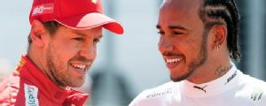 Lewis backs 'F1 great' Vettel to rebound from slump