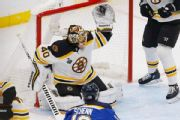 Rask locks down Blues as Bruins force Game 7