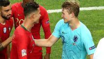 Cristiano le pidió a De Ligt que fiche por la Juventus