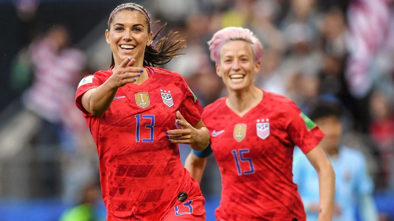 3dfa82d1b1 Women's World Cup 2019 - Are we really going to blame USWNT players ...