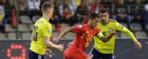 Bélgica goleó a Escocia y sigue con puntaje perfecto en las eliminatorias para la Euro