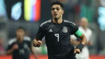 Raul Jimenez is the most important player of Mexico's depleted Gold Cup squad