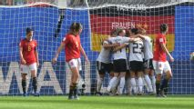 Germany beat Spain to stay atop Group B