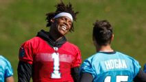 Chris Hogan sees positive parallels between Cam Newton and Tom Brady