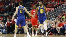 Warriors confían retener a KD y Thompson