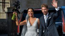 Estrellas del futbol español e internacional asisten a la boda Sergio Ramos