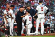 Braves reinstate Newcomb from concussion list