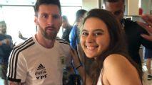 Copa América: A emoção de conhecer Lionel Messi