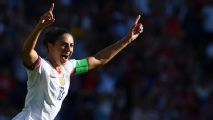 Carli Lloyd aims 'golf clap' goal celebration at U.S.'s critics