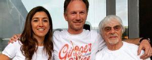 Bernie Ecclestone attends Spice Girls gig with Horner, Verstappen