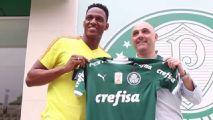 Mina visita Academia, dá apoio a Borja e exalta momento do Palmeiras