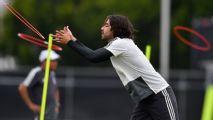 Pizarro y Moreno, aún no se recuperan en el Tricolor