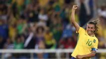 Marta supera el récord de Klose con más goles en torneos internacionales