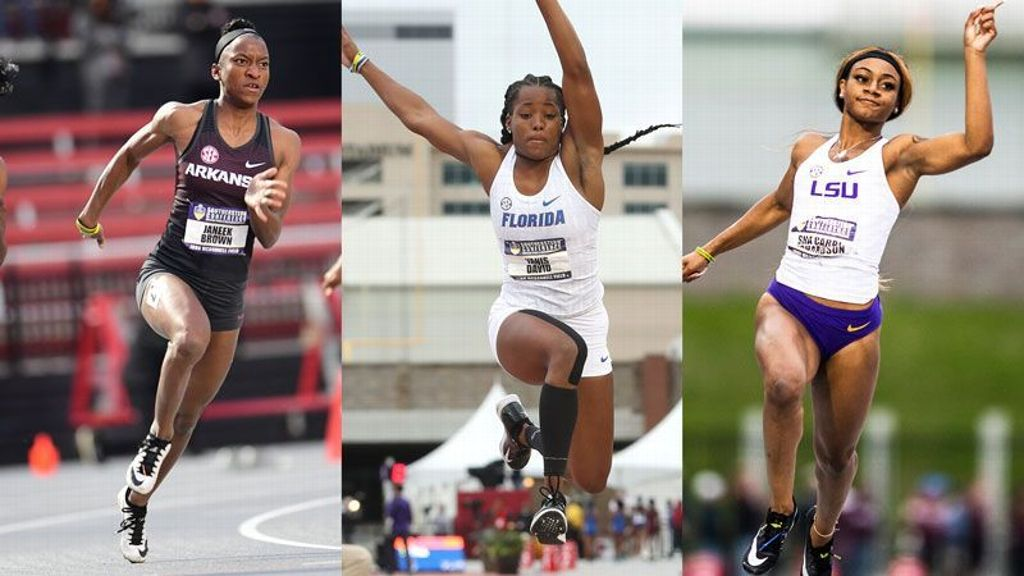 SEC lands three finalists for women's Bowerman Award