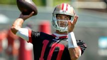49ers quarterback Jimmy Garoppolo has summer school plans