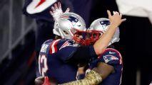 Tom Brady conecta con Josh Gordon para una sesión de práctica