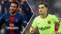Neymar: Em enquetes, franceses 'se arrependem' da contratação e espanhóis querem mandar Coutinho para o PSG