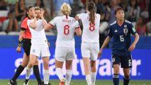 White scores brace as England top Group D