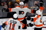 Flyers re-sign D-man Sanheim for two years