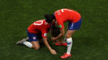 Chile eliminated after missing late penalty