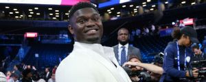 Pelicans select Zion Williamson first in NBA draft