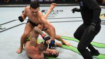 Zumbi Coreano destrói Moicano em 58s no UFC Greenville em dia ruim para brasileiros