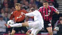 UEFA felicita a Zidane con video de golazo en la Champions League