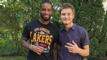 Darius Slay shows up at Lions fan's high school graduation party