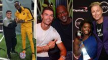Toe Poke Daily: When GOAT meets GOAT -- Ronaldo-Jordan latest encounter of sport icons