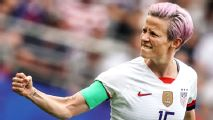 Trump criticizes Rapinoe over anthem