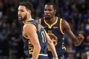 Warriors to talk future with KD, Klay this week