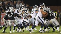 Dos prácticas conjuntas para Rams y Raiders antes de pretemporada