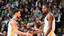 Warriors hablarán esta semana con Kevin Durant y Klay Thompson sobre su futuro