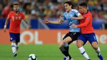 Uruguay's Cavani gains a bit of revenge against 'old' foe Chile