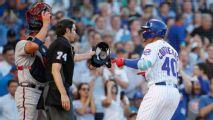 Contreras reclama y se vacían bancas en Cubs-Braves