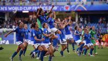 Italy beat China to continue stellar WWC run