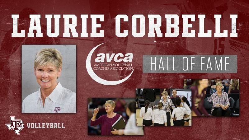 Texas A&M's Corbelli heads to AVCA Hall of Fame