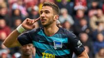 Liverpool's Grujic re-joins Hertha Berlin on loan