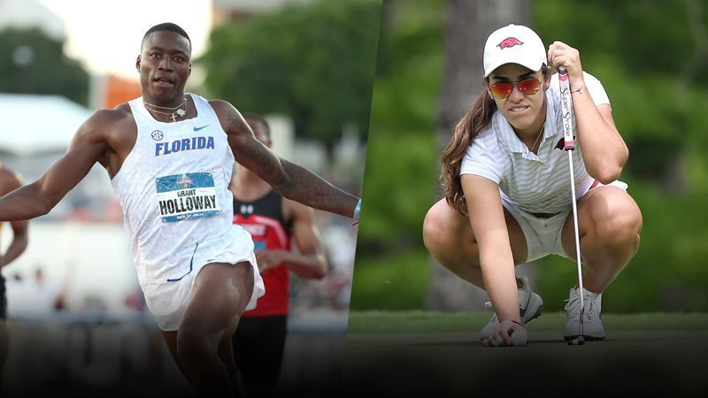 Holloway, Fassi named Kramer SEC Athletes of the Year