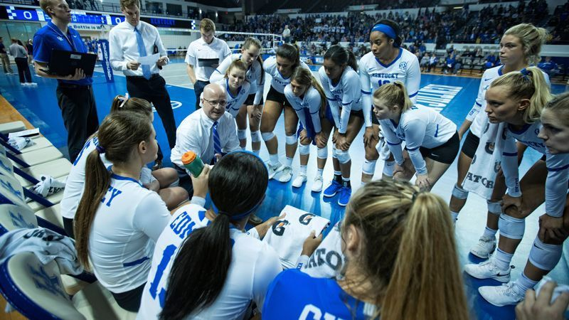 UK tabbed preseason favorite for 2019 volleyball season