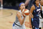 Lynx rookie Collier replaces Wilson for WNBA ASG