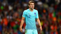 De Ligt arrives at Juve ahead of expected deal