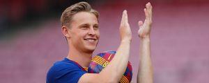De Jong debutó con el Barça con buenas sensaciones