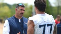 How Mike Vrabel balances life with a head coach's relentless schedule