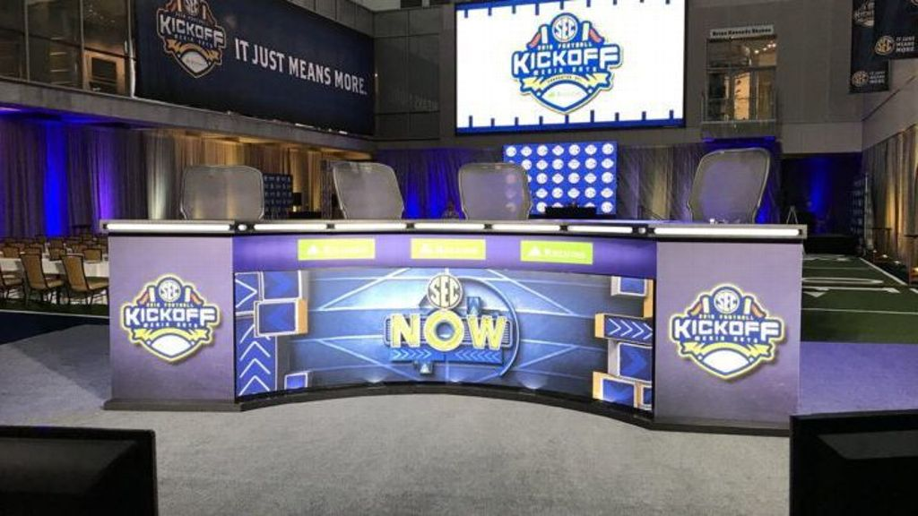 Expansive Media Days coverage slated for SEC Network