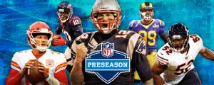 A NFL está de volta: o guia completo para você saber tudo da pré-temporada