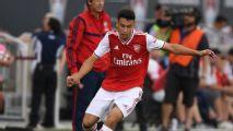 Arsenal: Brasileiro Gabriel Martinelli marca de peito em estreia