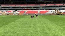 Especialistas de la NFL aprueban el pasto del Estadio Azteca
